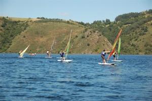Activites nautiques et plage - Base de loisirs de Mallet à proximité