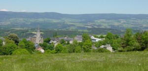 faverolles village Cantal